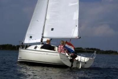 Holandská plachetnice jeanneau2000