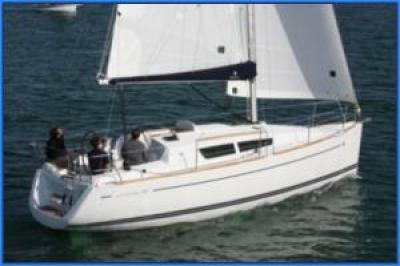 Holandská plachetnice jeanneau30i
