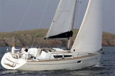 Holandská plachetnice jeanneau36i
