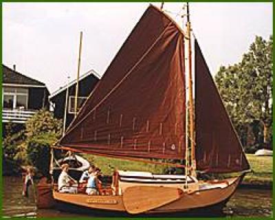 Holandská plachetnice gr665