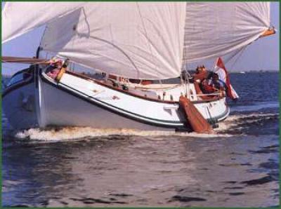 Holandská plachetnice LA1050