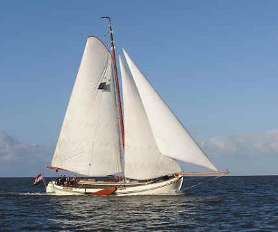 Holandská plachetnice la1450