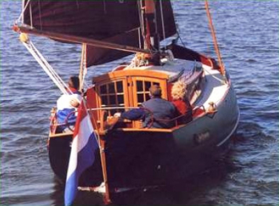 Holandská plachetnice sj780