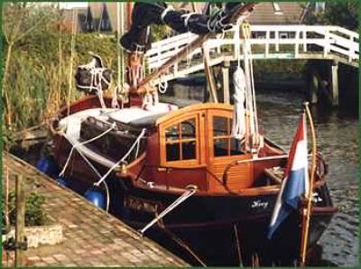 Holandská plachetnice vb810