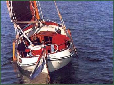 Holandská plachetnice vb850bol